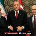 Erdoğan, Putin en Ruhani vanuit Ankara: Syrië blijft Syrië, Turkije niet te stoppen