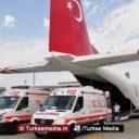 Israël en Egypte blokkeren Turkse hulp aan zwaargewonde Palestijnen
