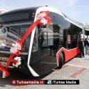 Turkije neemt nieuwste elektrische bussen van eigen makelij in gebruik