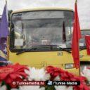 Turkse gemeente geeft Bosnië bussen cadeau