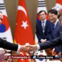 Zuid-Korea noemt Turkije broederland en ontvangt Erdoğan met open armen
