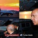 Erdoğan landt als eerste op grootste luchthaven ter wereld Turkije