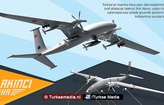 Turkije toont nieuwe unieke wapen in de lucht