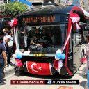 Turkse stad Elazığ neemt langste elektrische bussen ter wereld in gebruik