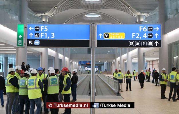 Wereldgiganten staan in de rij voor Turkse megaluchthaven
