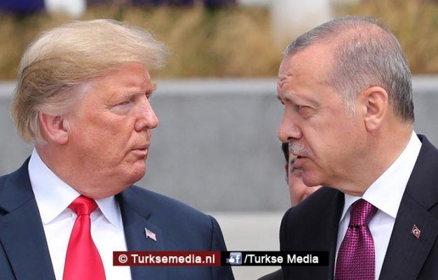 Trump tegen NAVO-landen: Erdoğan enige leider die alles goed doet