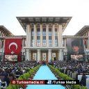 Turkije schakelt feestelijk over naar nieuw presidentieel systeem (fotogalerij)
