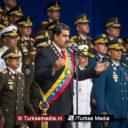 Bomaanslagen op pro-Turkse Venezolaanse president Nicolas Maduro