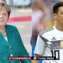 Merkel neemt het 'deels' op voor racismeslachtoffer Mesut Özil