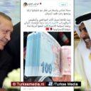 Qatarezen dumpen dollars voor Turkse lira