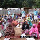 Turken delen offervlees uit aan kwart miljoen Nigerianen: 'Turkije zal overwinnen'