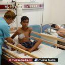 Turkije behandelt zwaargewonde Syrische kinderen uit Azaz