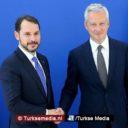 Turkije en Frankrijk bijeen voor actie tegen sancties VS