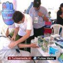 Turkse vrijwilligers helpen duizenden Marokkanen in Rabat