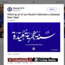 Chelsea wenst moslims gezegend Islamitisch nieuwjaar