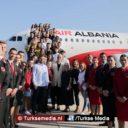 Erdoğan helpt Albanië aan een nationale luchtvaartmaatschappij