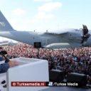 Erdoğan schudt Turken wakker: Ze hebben onze vliegtuigfabriek opgeblazen