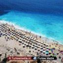 Het regent toeristen in Antalya