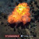 Turkije toont nieuwe beelden uitschakeling terroristen in Noord-Irak