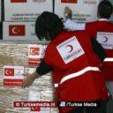 Noodhulp van Turkse omvang naar Syrische Idlib