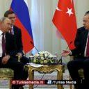 Putin verbaasd na opmerking Erdoğan