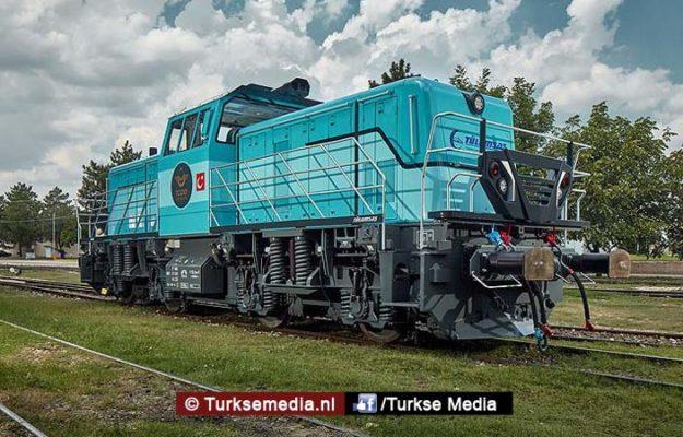 Turkije toont hybride locomotief van eigen makelij