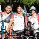 Turkse dames verslaan Italië en pakken goud tijdens EK handboogsport in Polen
