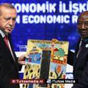 Erdoğan pleit voor eerlijke handel en wil Afrika redden uit klauwen van dollar