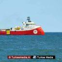 Griekse oorlogsboot daagt Turks onderzoeksschip uit