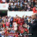 Stevige woorden Erdoğan in Diyarbakır