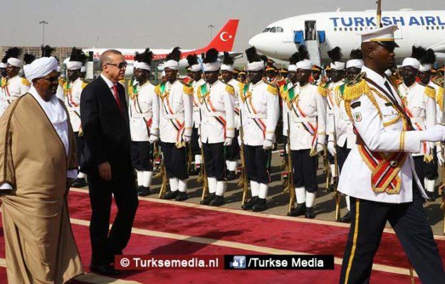 Turken bouwen nieuwe grote luchthaven van Sudan