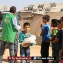 Turken delen tien miljoen zakken brood uit aan Syriërs in gered Idlib