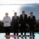 Turkije brengt Duitsland, Frankrijk en Rusland bijeen in Istanbul