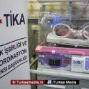 Turkije redt baby's in Palestina