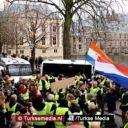 Protesten 'Gele Hesjes' waaien over naar Nederland
