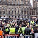 Rustige protesten gele hesjes in Nederland, boodschap voor NOS en Rutte