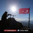Terroristen in Noord-Irak vluchten weg van Turkse militairen