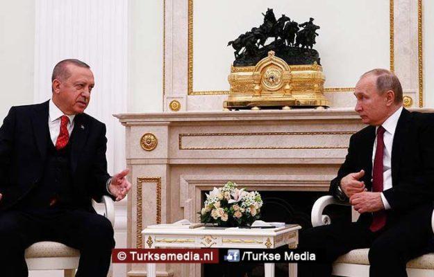 Erdoğan en Putin bijeen voor Syrië