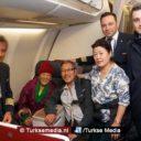 Turkish Airlines vervoert oudste passagier ooit tussen continenten