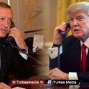 Trump neemt gas terug na gesprek met Erdoğan