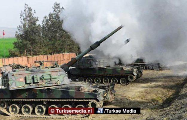 Turkije geeft startschot voor vernietiging YPG