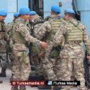 Turkse commandanten naar Syrische grens