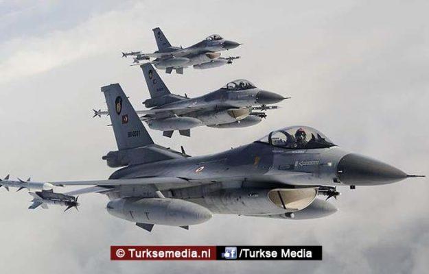 Turkse jets naar Irak voor grote antiterreurmissie