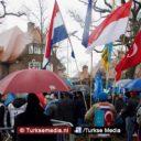 Demonstranten op de been in Den Haag tegen Chinese onderdrukking Oeigoerse moslims