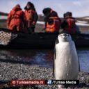Turks onderzoeksteam zet voet aan wal in Antarctica