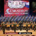 Russisch legerkoor zingt Turks volkslied
