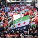 Turken protesteren tegen Israëlische onderdrukking vrouwen in Jeruzalem