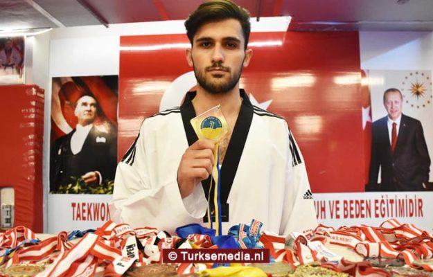 Jonge Turkse atleet (17) niet te stoppen, pakt 41 medailles