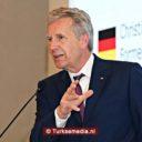 Oud-president Duitsland is moslims en Turken dankbaar