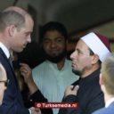 Prins William bezoekt getroffen moskee Christchurch